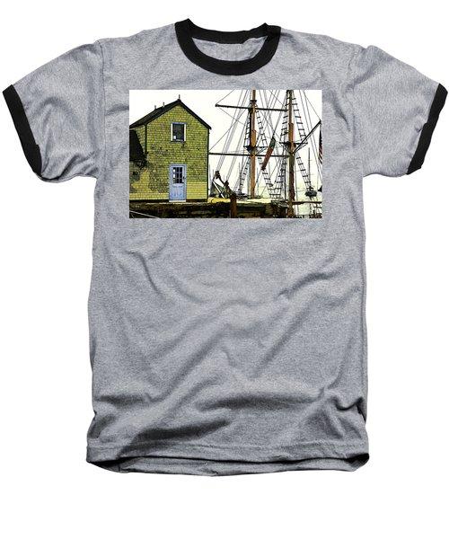 Rockport Harbor Baseball T-Shirt