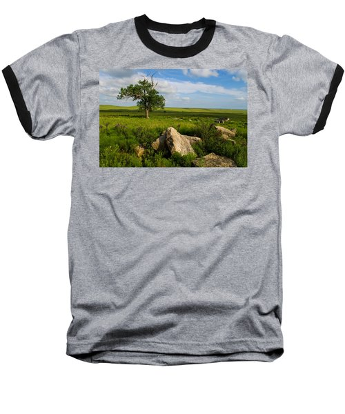 Rocks And Cottonwood 1 Baseball T-Shirt