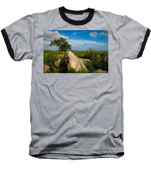 Rocks And Cottonwood 2 Baseball T-Shirt