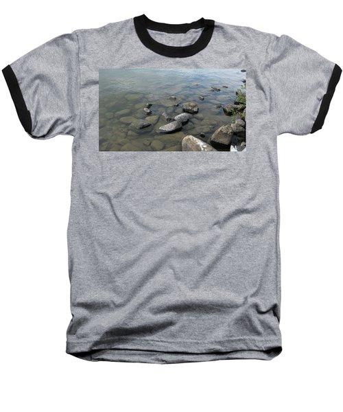 Rocks And Water Too Baseball T-Shirt