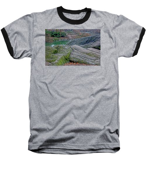 Baseball T-Shirt featuring the photograph Rocks At Central Park by Sandy Moulder