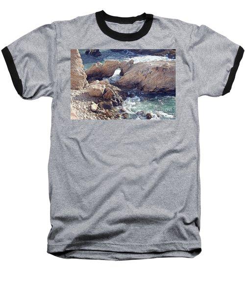 Rocks At Montana De Oro Baseball T-Shirt
