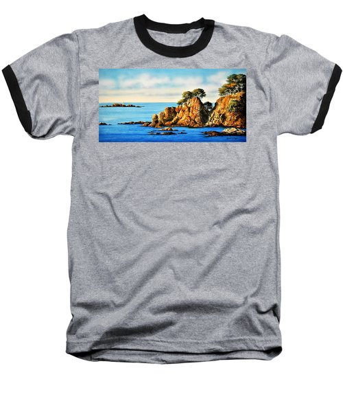 Rocks At Palafrugel,calella, Spain Baseball T-Shirt