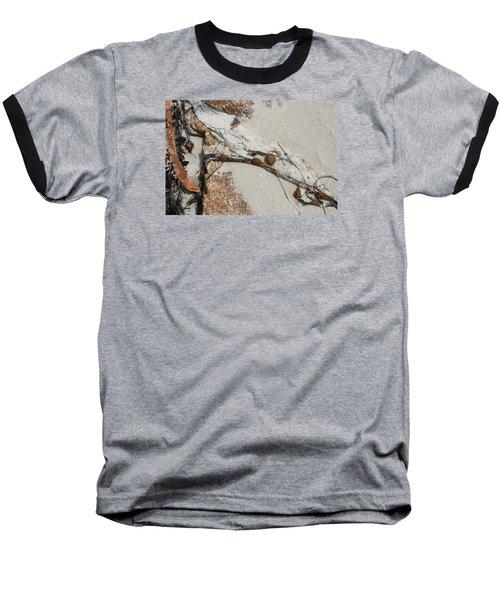 Rocks Longside Baseball T-Shirt by Kathleen Grace