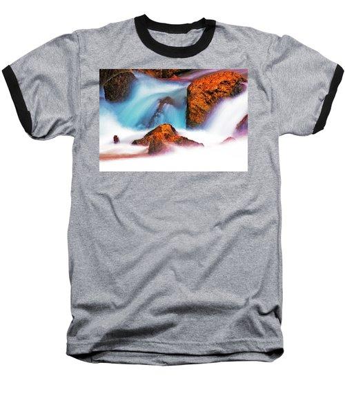 Rocks Of Zion Baseball T-Shirt