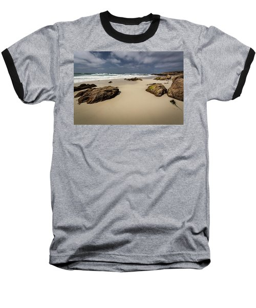 Rocks On The Shore Baseball T-Shirt