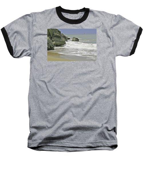 Rocks, Sand And Surf Baseball T-Shirt