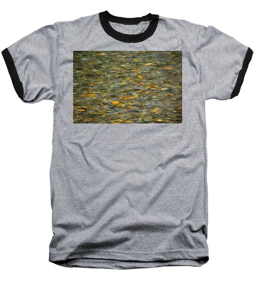 Rocks Under Water Baseball T-Shirt