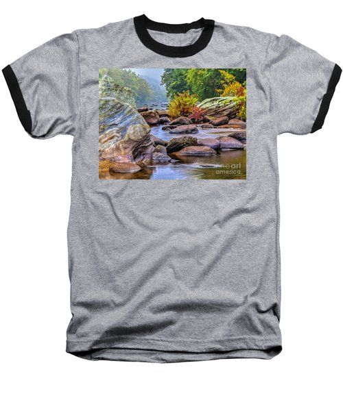 Baseball T-Shirt featuring the photograph Rockscape by Tom Cameron