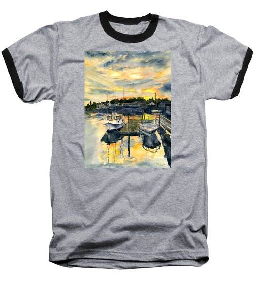 Rocktide Sunset Baseball T-Shirt