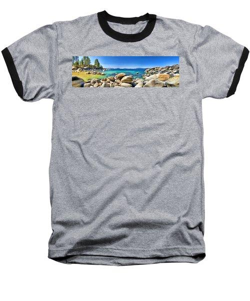 Rocky Cove Sand Harbor Baseball T-Shirt