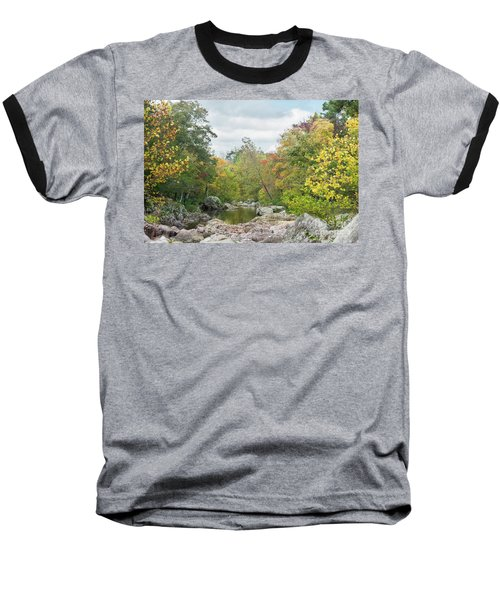 Baseball T-Shirt featuring the photograph Rocky Creek Shut-ins by Julie Clements