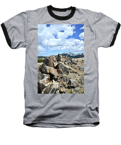 Rocky Crest At Big Horn Pass Baseball T-Shirt