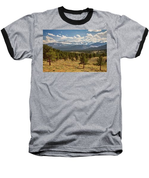 Rocky Mountain Afternoon High Baseball T-Shirt by James BO Insogna