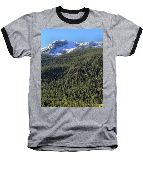 Baseball T-Shirt featuring the photograph Rocky Mountain Evergreen Landscape by Dan Sproul
