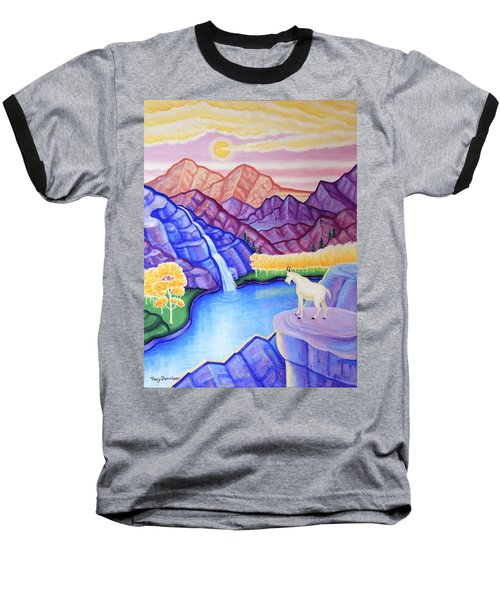Rocky Mountain High Baseball T-Shirt by Tracy Dennison