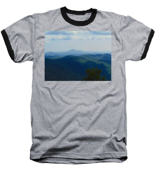 Rocky Mountain Overlook On The At Baseball T-Shirt