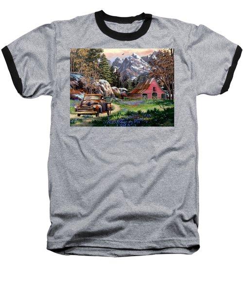 Rocky Mountain Ranch Baseball T-Shirt