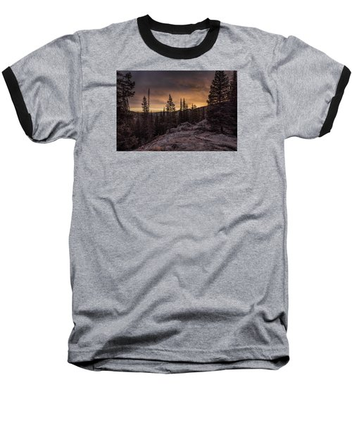 Rocky Mountain Skyfire Baseball T-Shirt