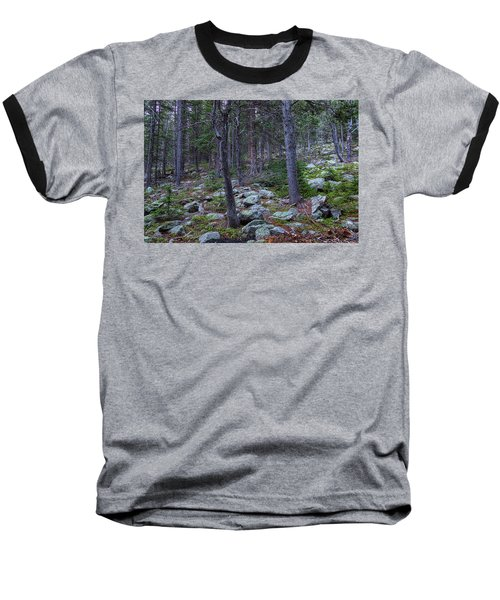 Baseball T-Shirt featuring the photograph Rocky Nature Landscape by James BO Insogna
