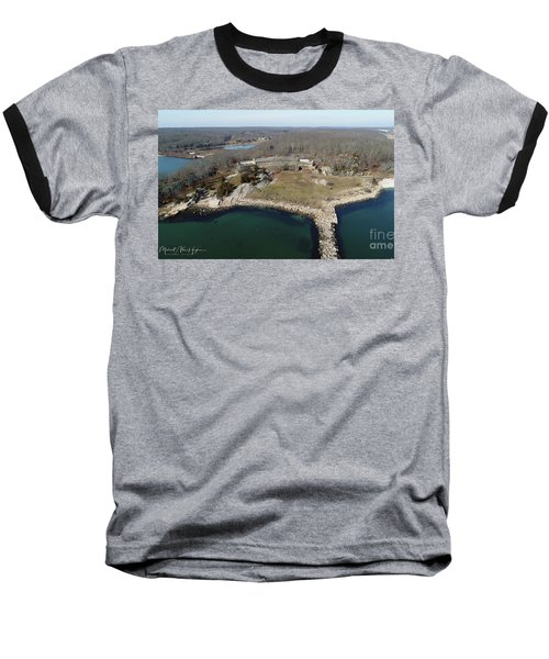 Rocky Neck Paviliion Baseball T-Shirt