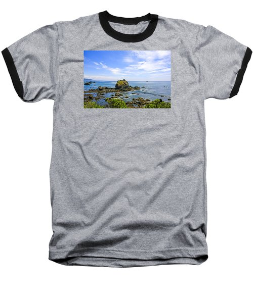 Rocky Pacific Coastline Baseball T-Shirt