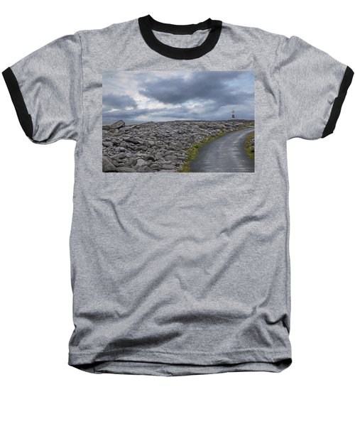 Rocky Road To The Lighthouse Baseball T-Shirt