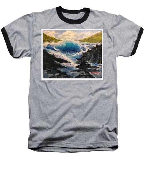 Rocky Sea Baseball T-Shirt
