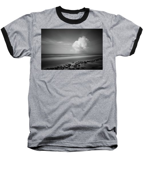 Rocky Shoreline Baseball T-Shirt