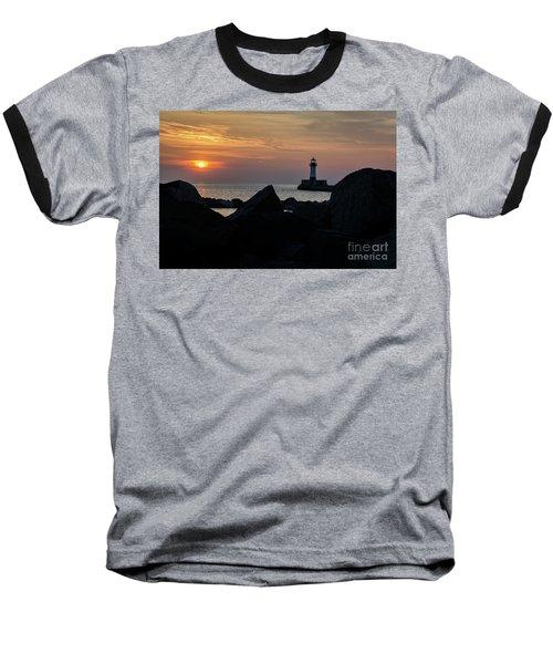 Rocky Sunrise Baseball T-Shirt