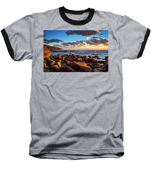 Rocky Surf Conditions Baseball T-Shirt