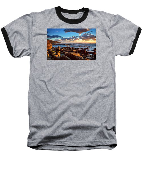 Rocky Surf Conditions Baseball T-Shirt