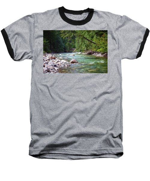 Rocky Waters In The North Cascades Landscape Photography By Omas Baseball T-Shirt