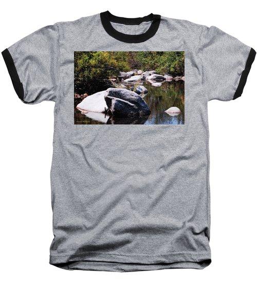 Rocky World Baseball T-Shirt by Donna Blackhall