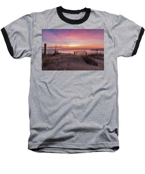 Rodanthe Sunrise Baseball T-Shirt