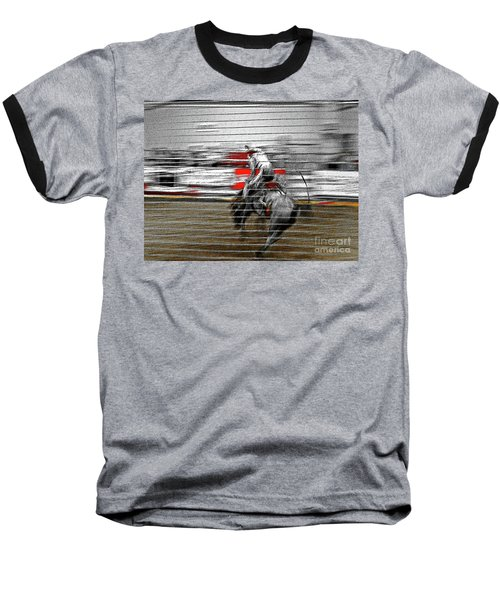 Rodeo Abstract V Baseball T-Shirt