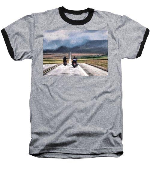 Roll Me Away Baseball T-Shirt