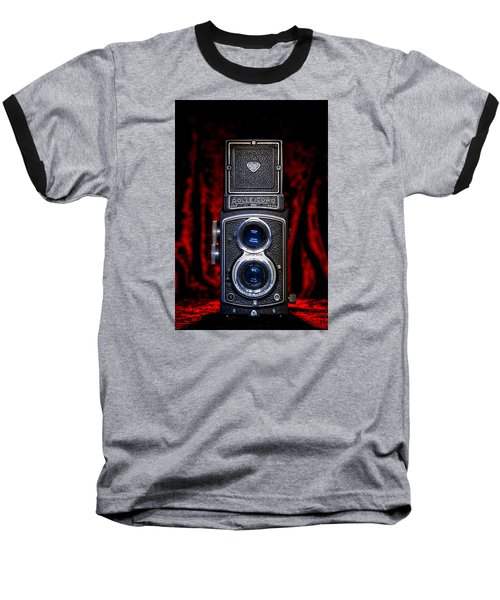 Baseball T-Shirt featuring the photograph Rollei by Keith Hawley