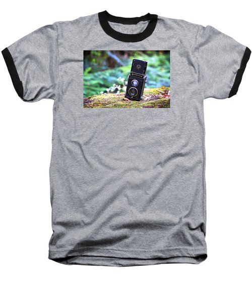Baseball T-Shirt featuring the photograph Rolleicord 2 by Keith Hawley