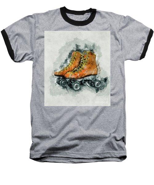 Roller Skates Baseball T-Shirt