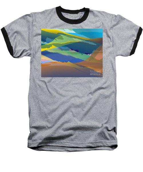 Rolling Hills Landscape Baseball T-Shirt