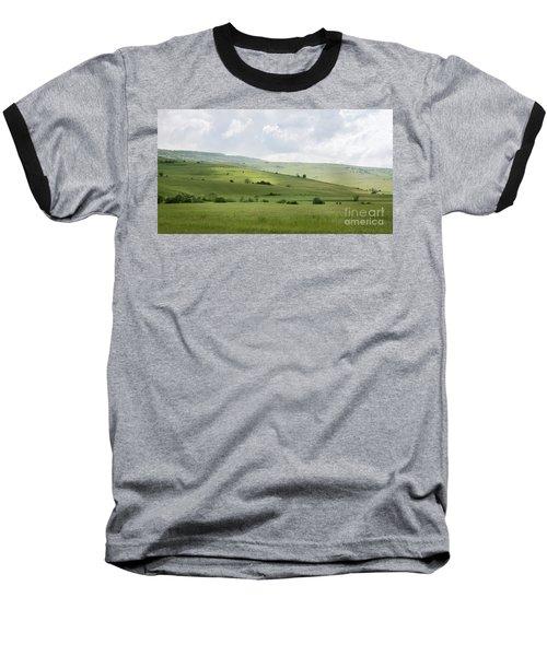 Rolling Landscape, Romania Baseball T-Shirt