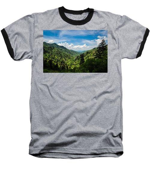 Rolling Mountains Baseball T-Shirt