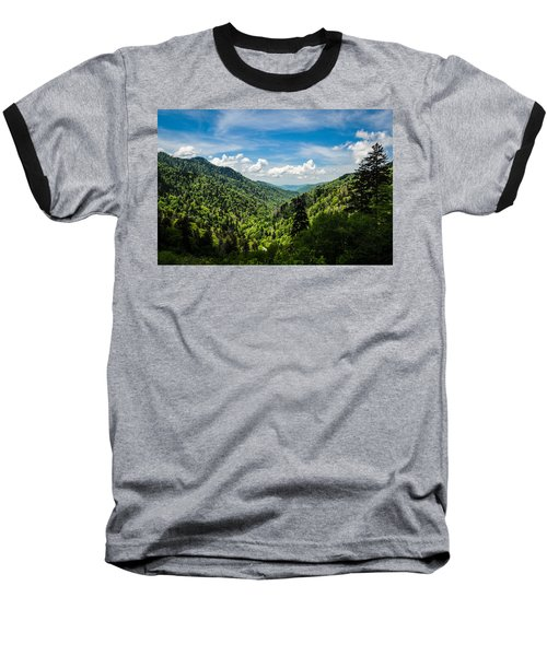 Rolling Mountains Baseball T-Shirt