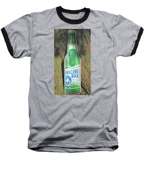 Rolling Rock Beer Baseball T-Shirt