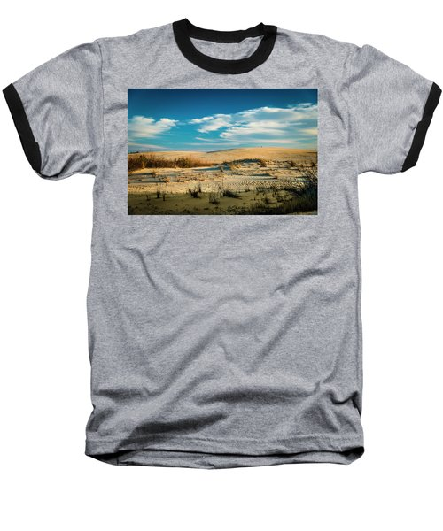 Rolling Sand Dunes Baseball T-Shirt