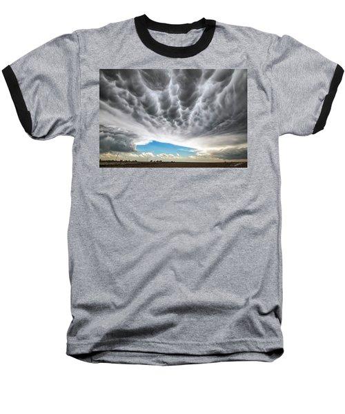 Rolling Sky Baseball T-Shirt