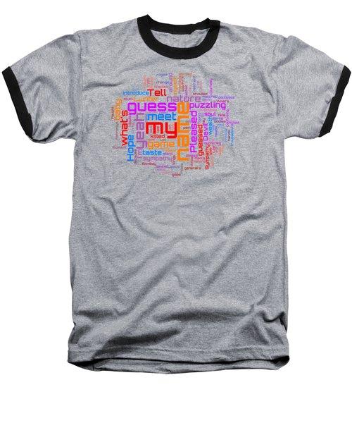 Rolling Stones - Sympathy For The Devil Lyrical Cloud Baseball T-Shirt