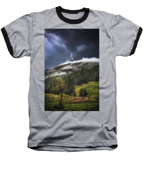 Rolling Through The Trees Baseball T-Shirt