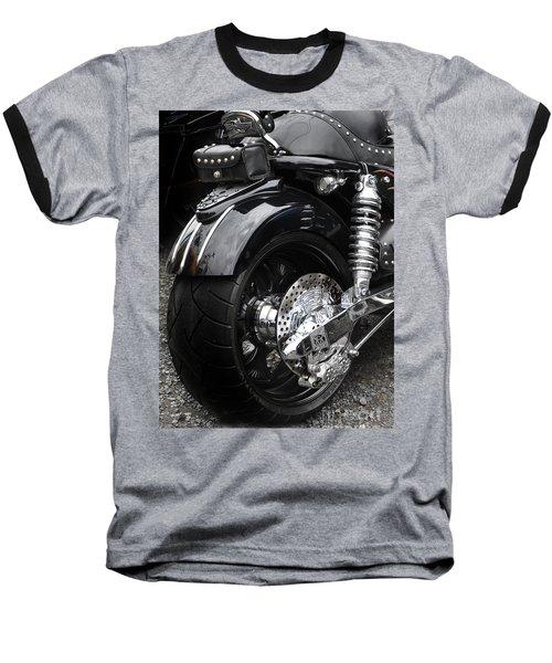 Rolling Thunder Baseball T-Shirt by Diane E Berry